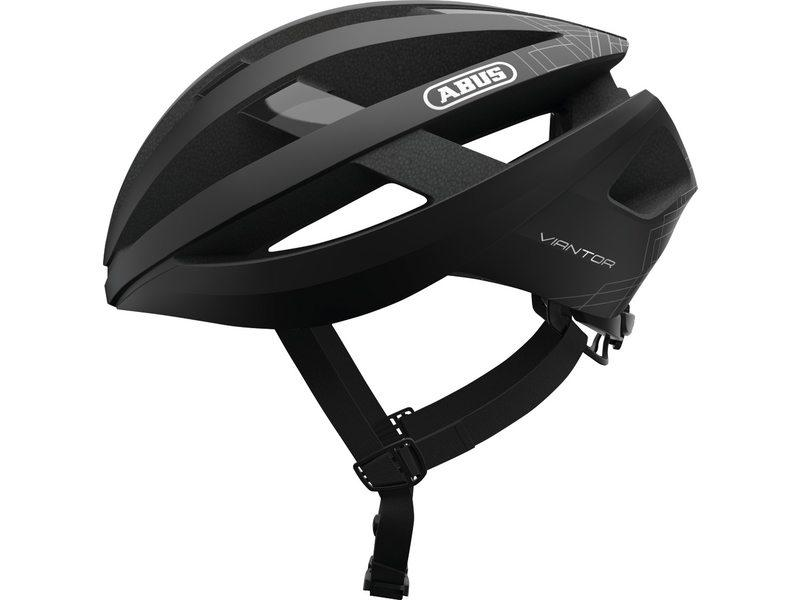 Abus Viantor Racefiets Helm Velvet Black