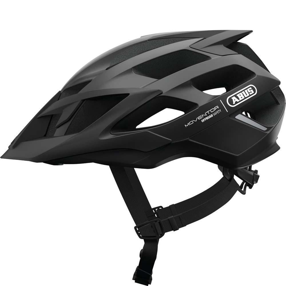 Abus Moventor MTB Helm Velvet Black