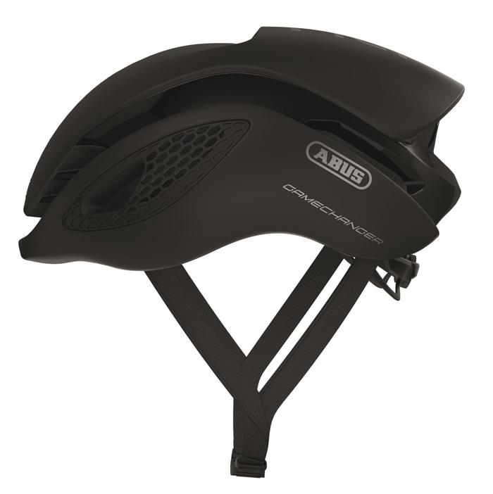 Abus Gamechanger Racefiets Helm Velvet Black