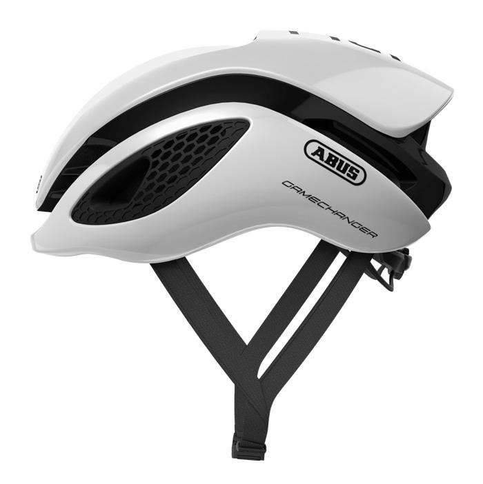 Abus Gamechanger Racefiets Helm Polar White Polar Changer White