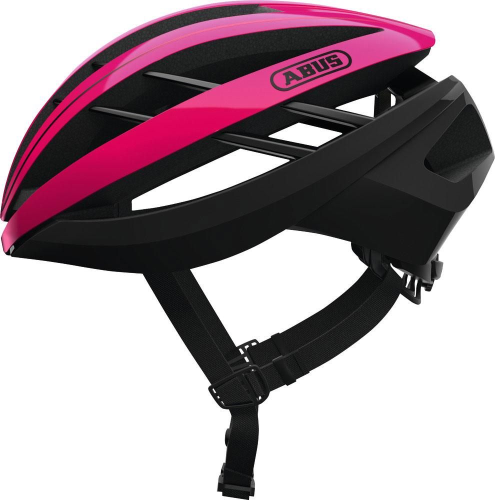 Abus Aventor Racefiets Helm Fuchisa Pink Fuchsia Pink