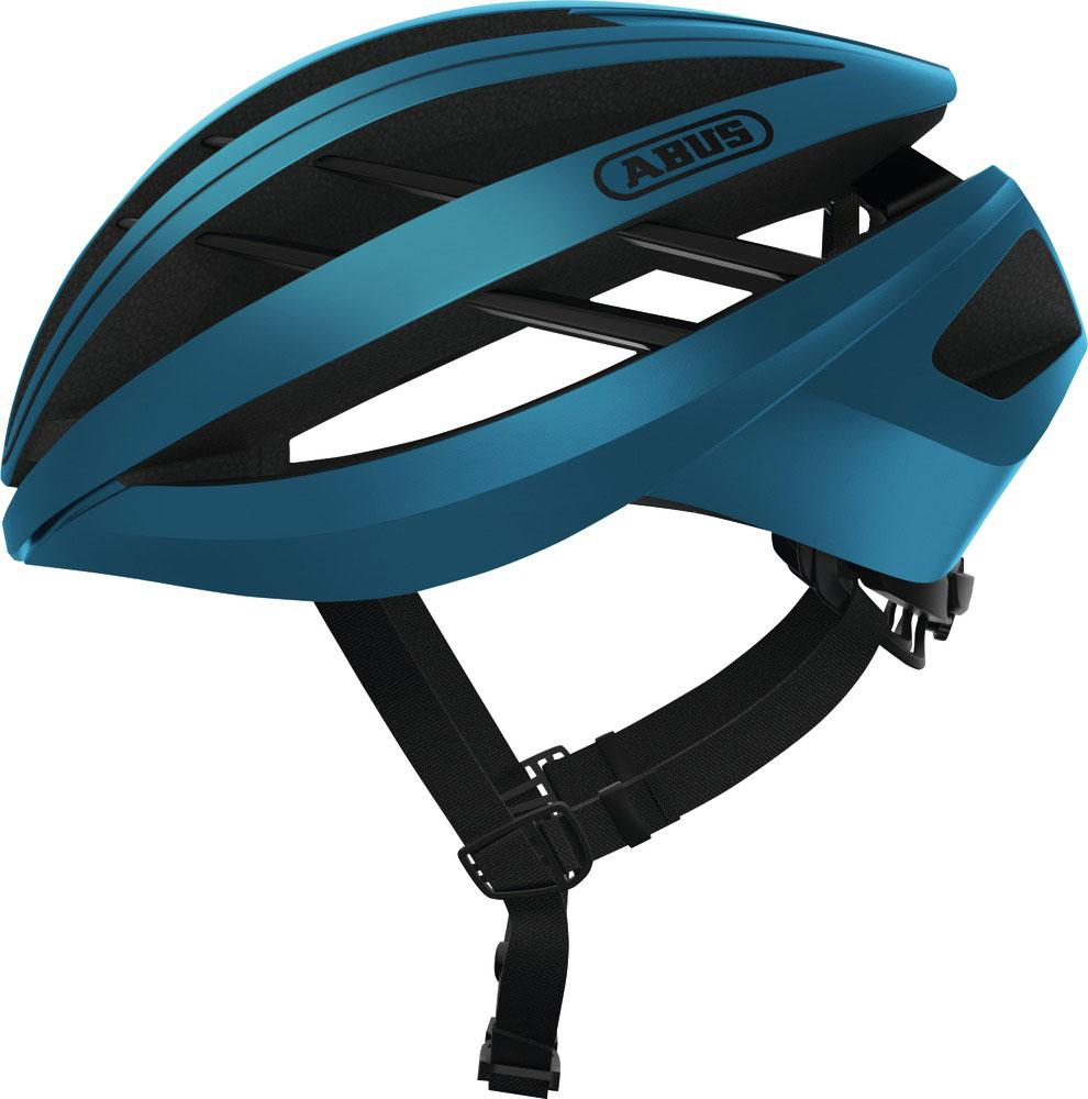 Abus Aventor Racefiets Helm Steel Blue