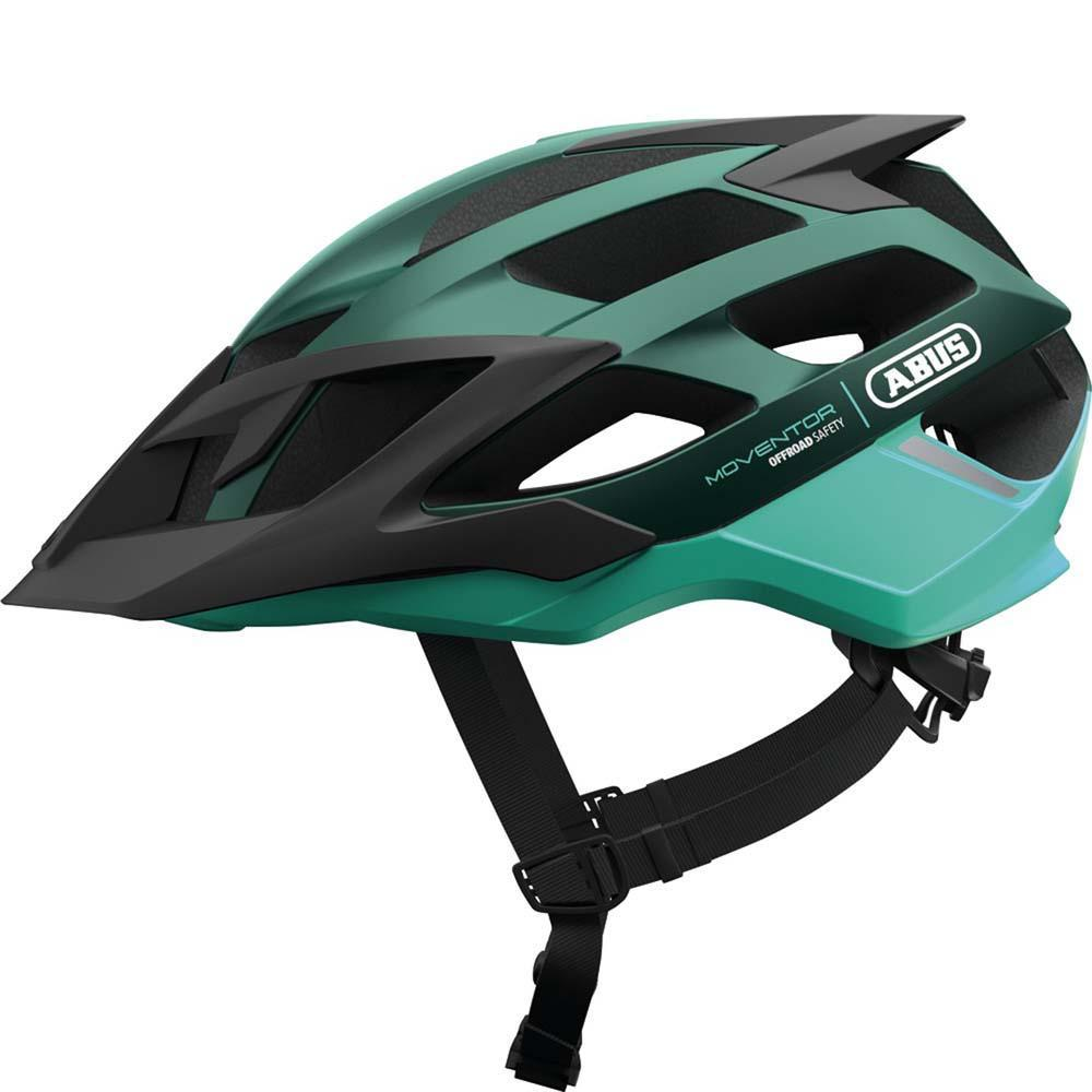 Abus Moventor MTB Helm Smaragd Green