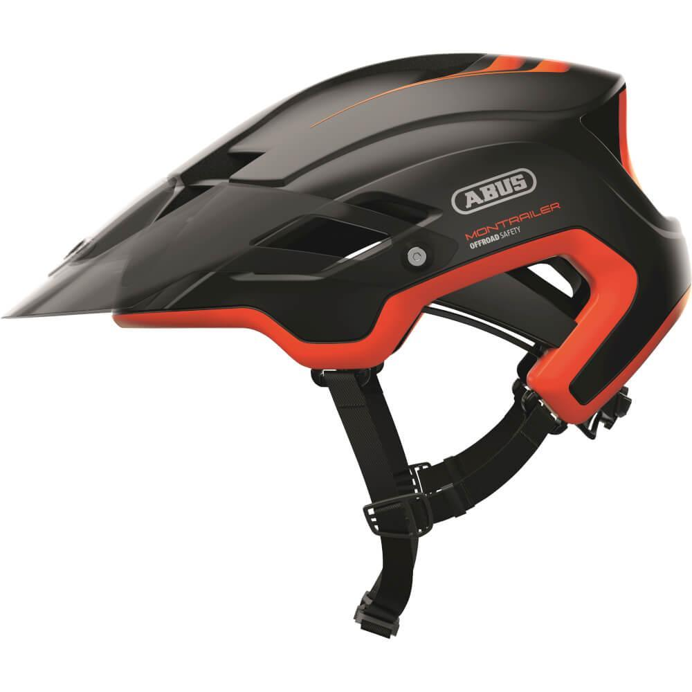 Abus VALHELM MONTRAILER ZW/OR Shrimp Orange
