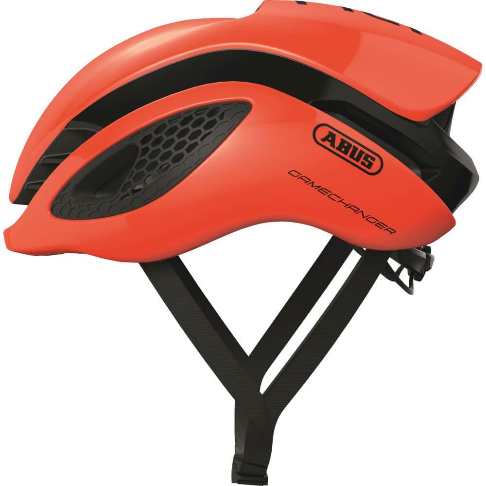 Abus Gamechanger Racefiets Helm Shrimp Orange