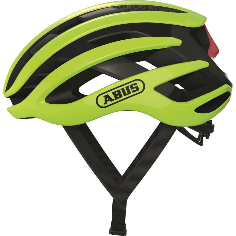 Abus AirBreaker Racefiets Helm Neon Yellow