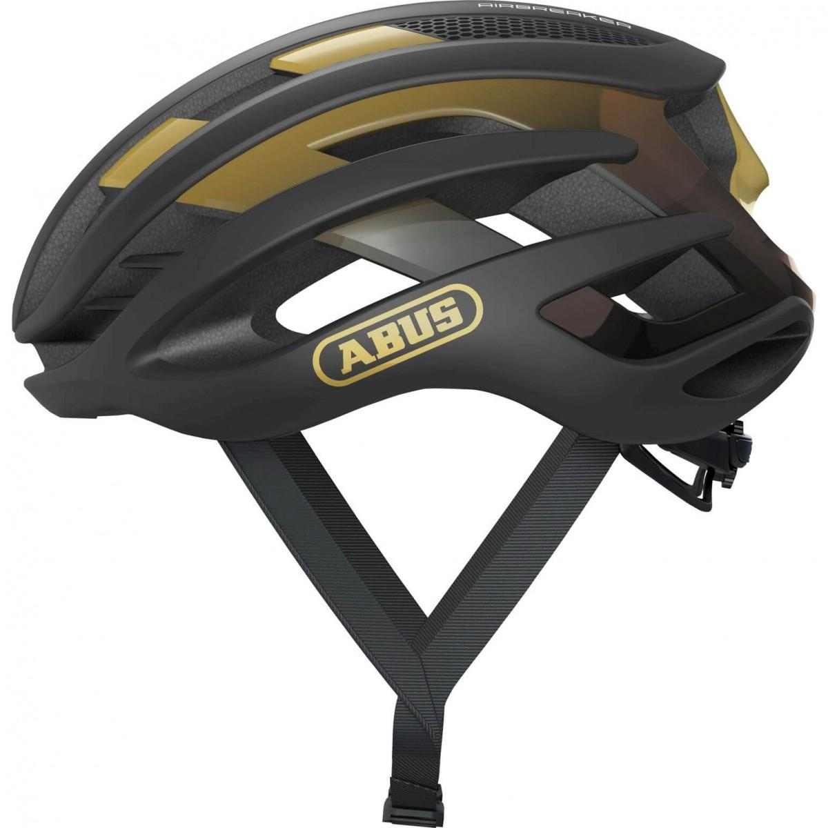 Abus AirBreaker Racefiets Helm Black/Gold