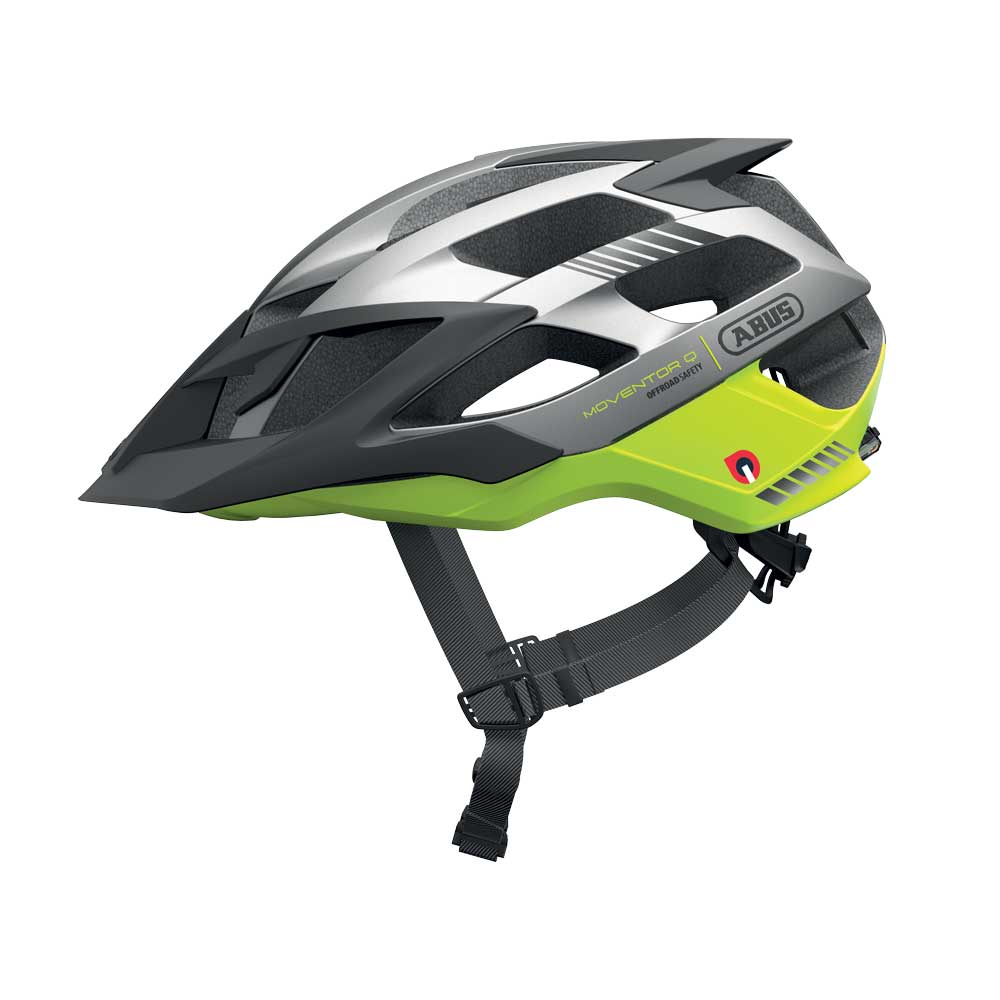 Abus Moventor Quin MTB Helm Neon Yellow