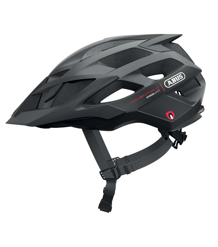 Abus Moventor Quin MTB Helm Velvet Black