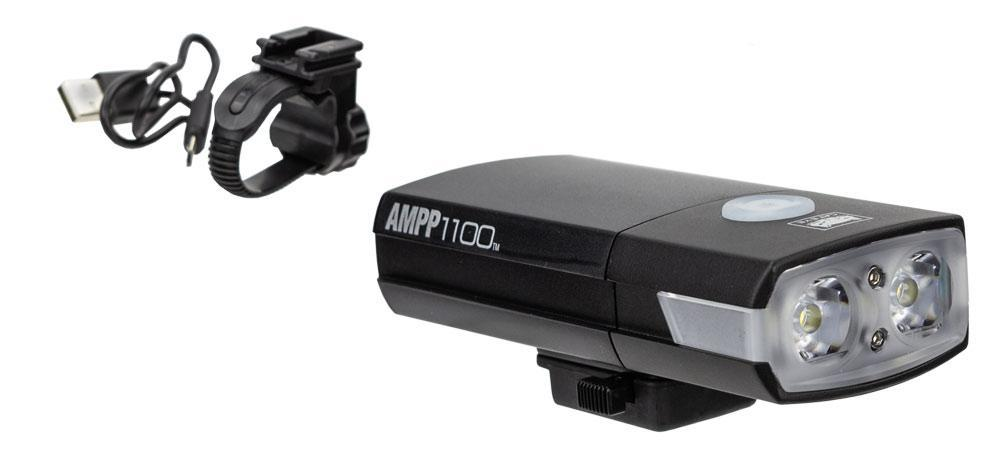 Cateye AMPP1100 Koplamp LED Zwart