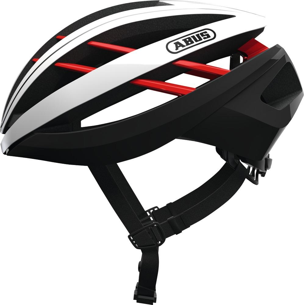 Abus Aventor Racefiets Helm Blaze Red