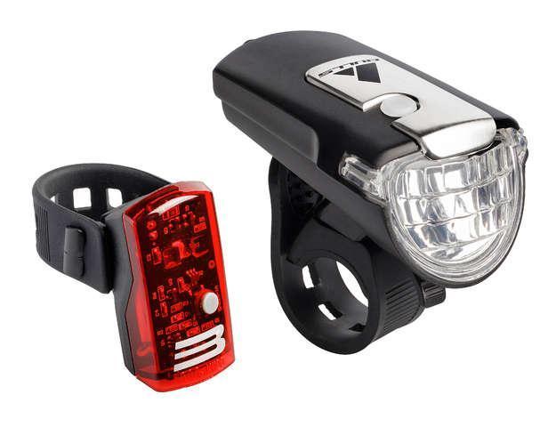 Bulls Verlichtingsset Eyes 3.5 LED 35 Lux Zwart