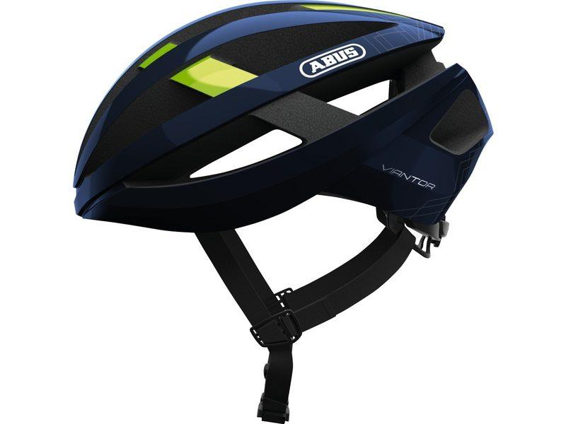 Abus Viantor Racefiets Helm Movistar Team