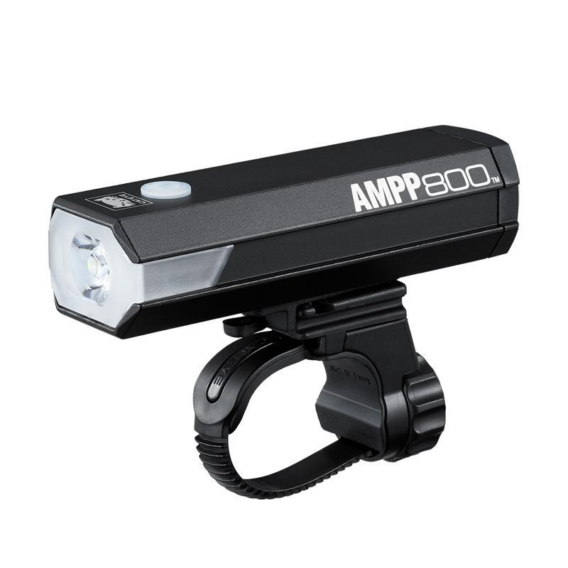 Cateye AMPP800 Koplamp LED Zwart