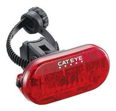 Cateye OMNI 5 LD155 Achterlicht LED (Batterij) Zwart