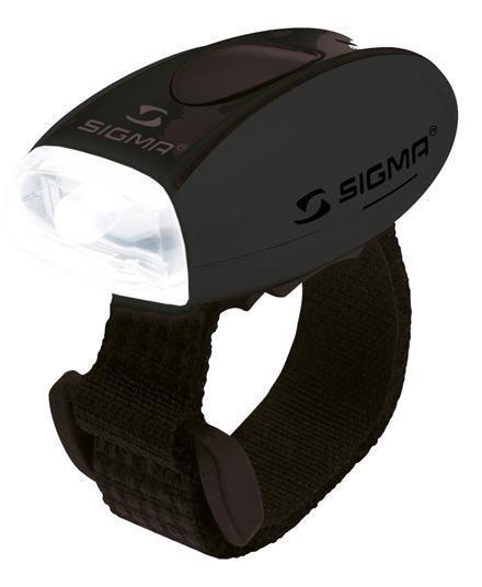 Sigma KOPLAMP MICRO LED ZWART