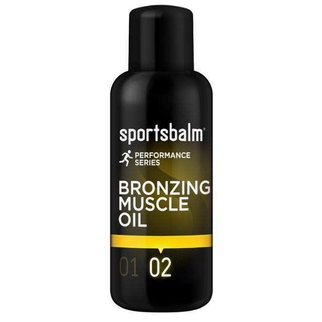 Sportsbalm OLIE BRONZING MUSCLE 200ML Yellow