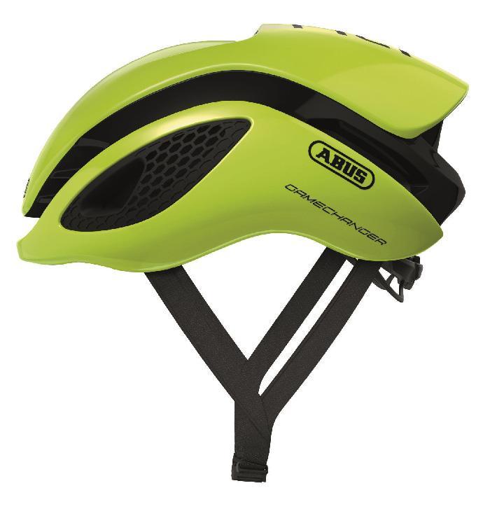 Abus Gamechanger Racefiets Helm Neon Yellow
