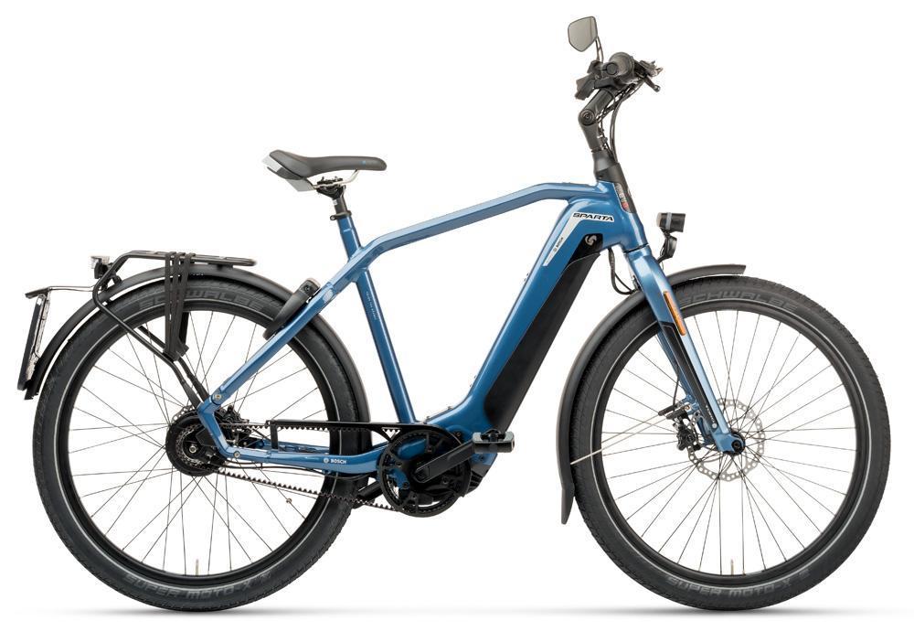 Sparta d-Burst METB Smart Speed incl. 625Wh Grayisch Blue HEREN