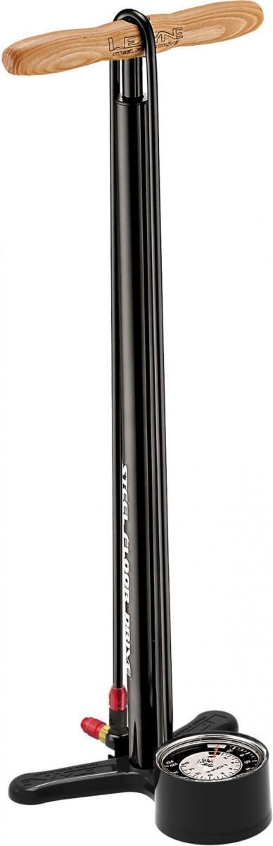 Lezyne STEEL FLOOR DRIVE 3.5 GAUGE ABS-1 PRO BLK