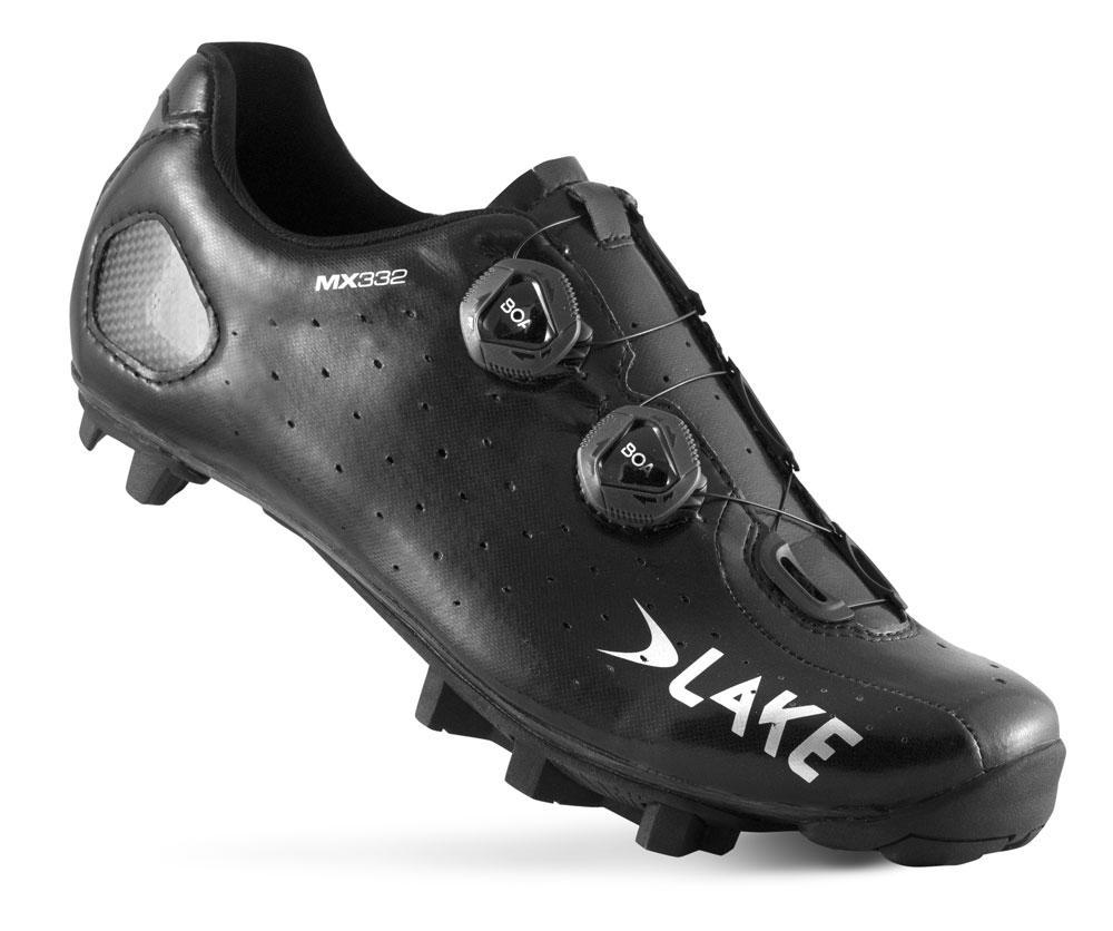 Lake MX332 Clarino black/silver