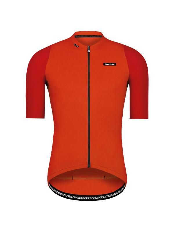 Etxeondo Mens Alde Jersey Red/Orange Rood/Oranje