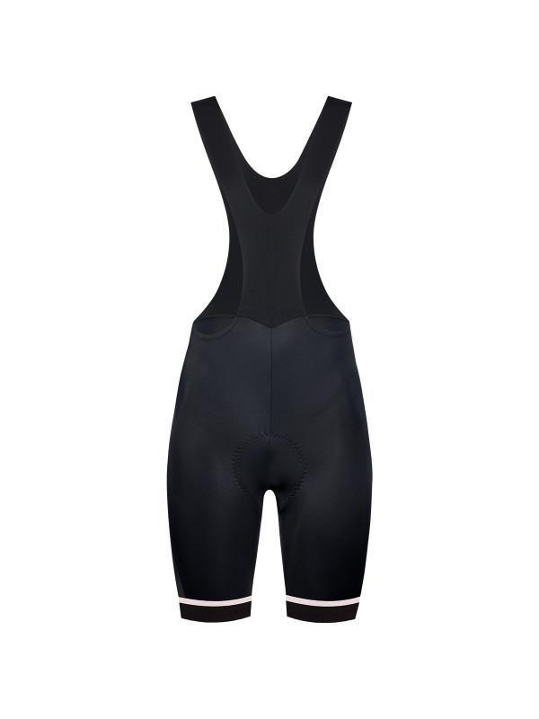 Etxeondo Womens Koma Bib Shorts Black/White Zwart/Wit