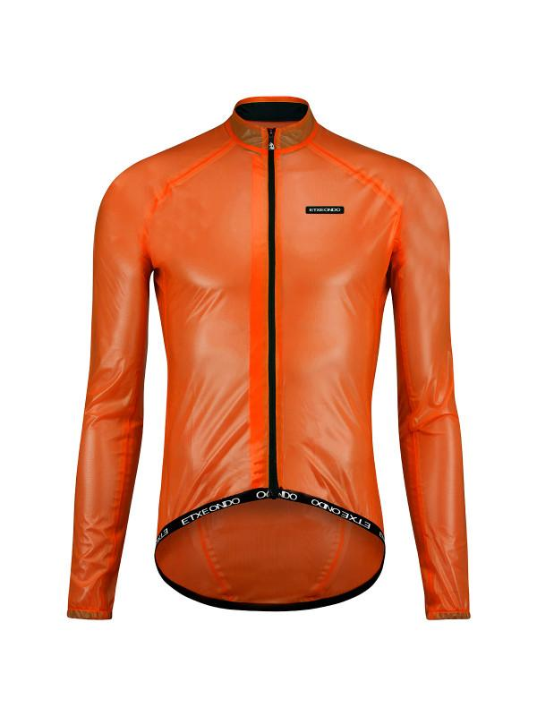 Etxeondo Mens Busti Rain Jacket Orange