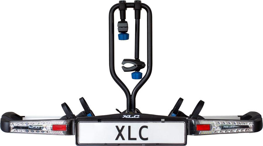 Xlc FIETSDRAGER AZURA LED 2F FRAME 2.0 Zwart/Zilver