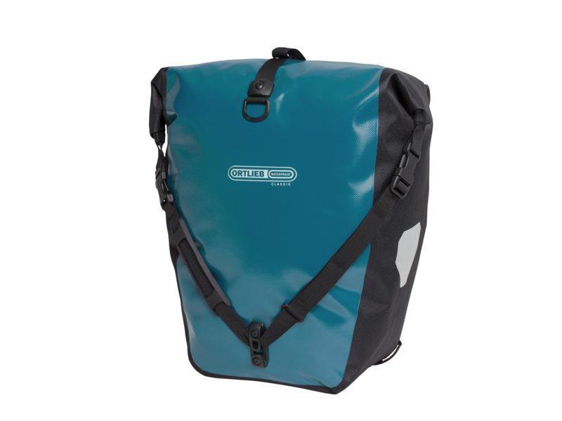 Ortlieb Tas achter back roller classic f5309 petrol-zwart Blauw