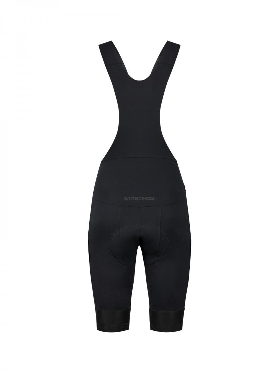 Etxeondo Womens Olaia Bib Shorts Black
