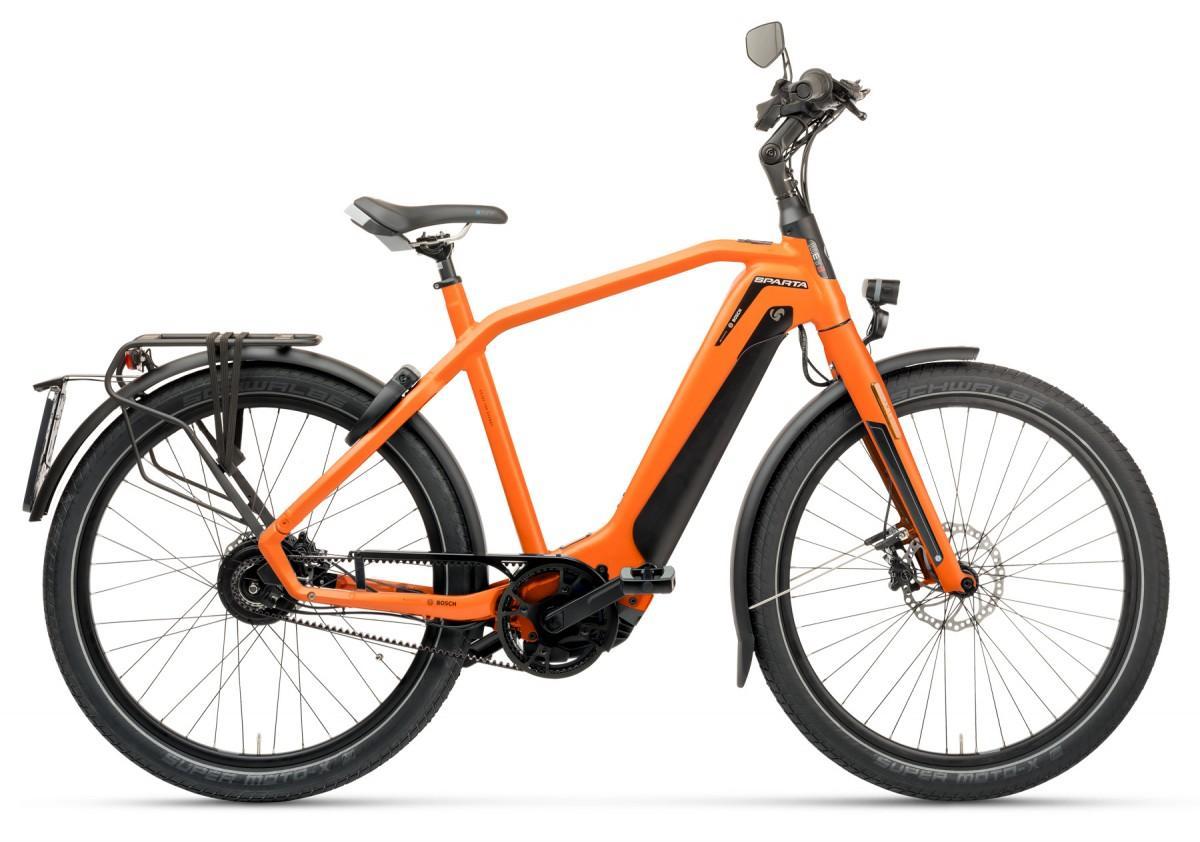 Sparta d-Burst METB Smart Speed incl. 625Wh Sunset Orange Matte HEREN