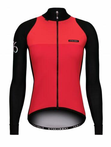 Etxeondo 76 jacket woman coral