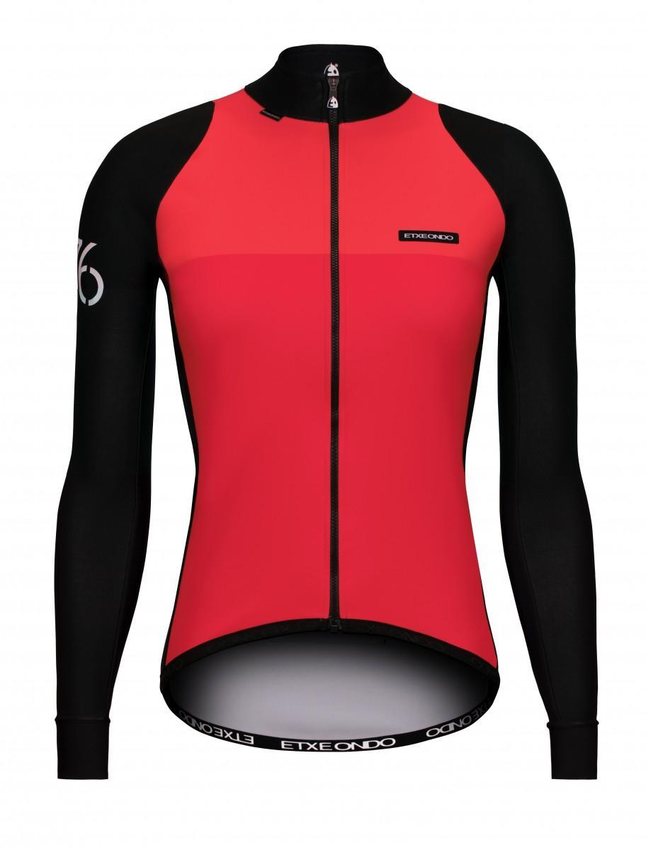 Etxeondo 76 jacket woman coral