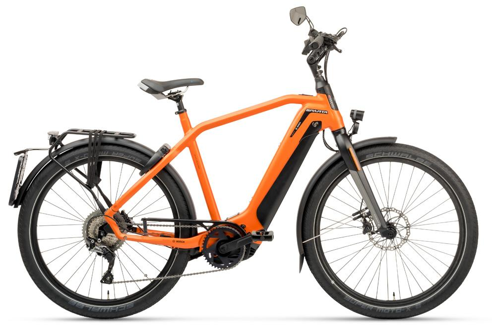Sparta d-Burst M11Tb Smart Speed incl. 625Wh Sunset Orange Matte HEREN