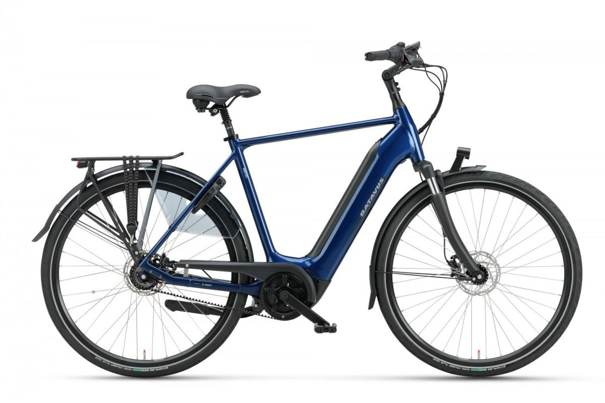 Batavus Finez E-go Power Exclusive Mountainlake Blauw Heren