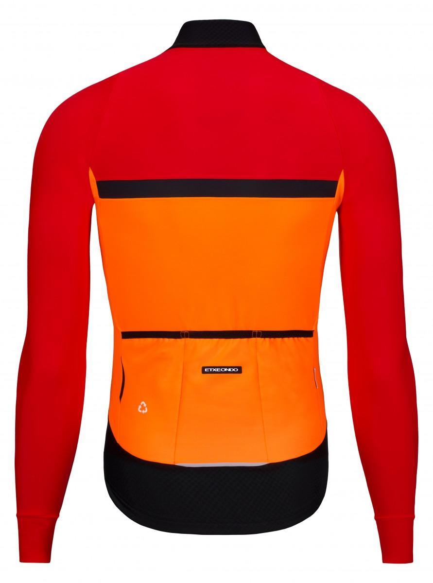 Etxeondo Mens Odei Jacket Orange-Red