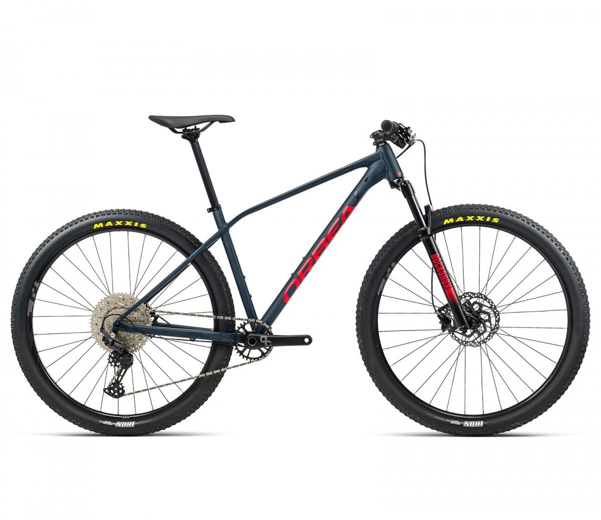 Orbea ALMA H50 Blue Bondi (Matte)- Bright Red