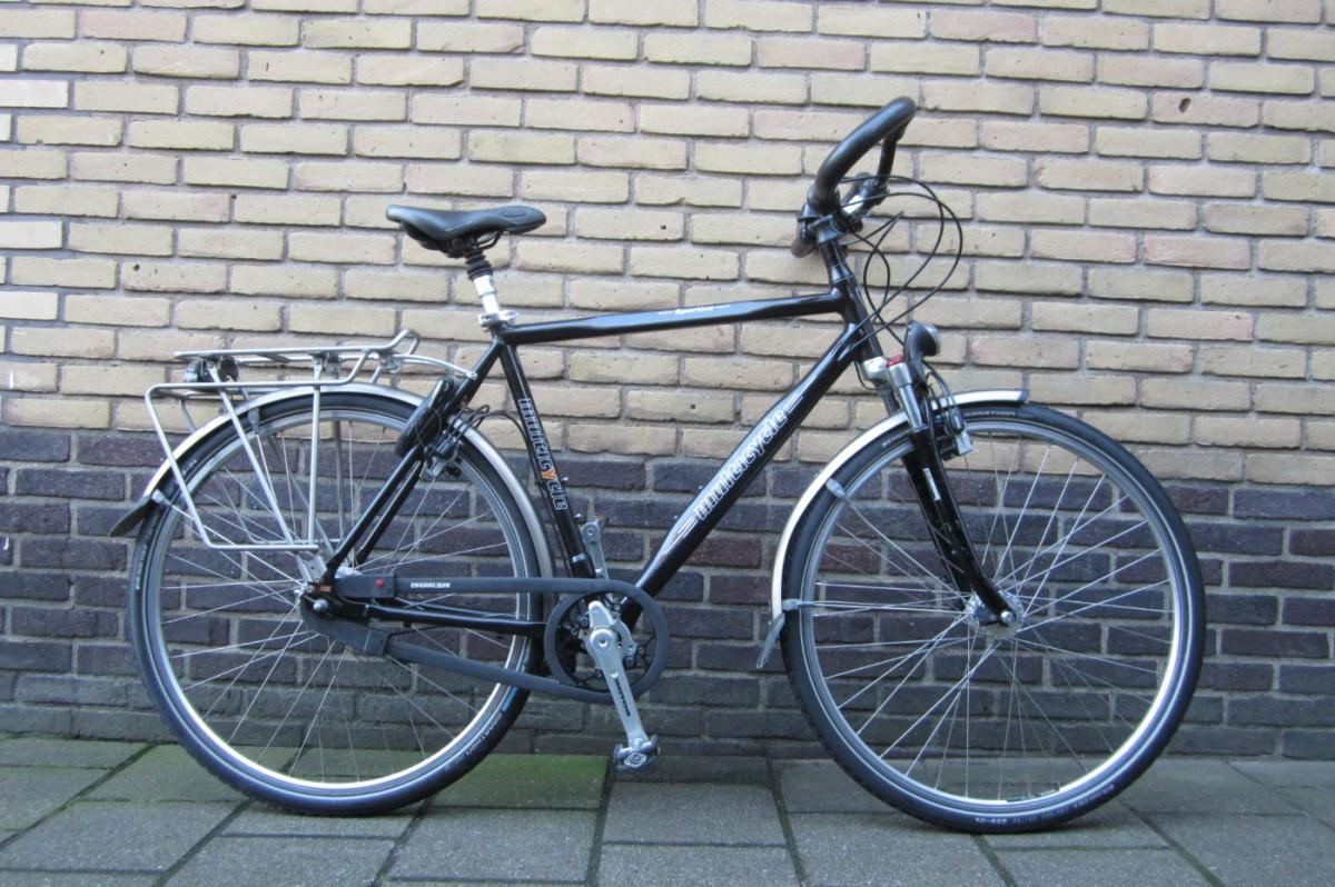 Multicycle Sportive Rohloff Zwart Heren