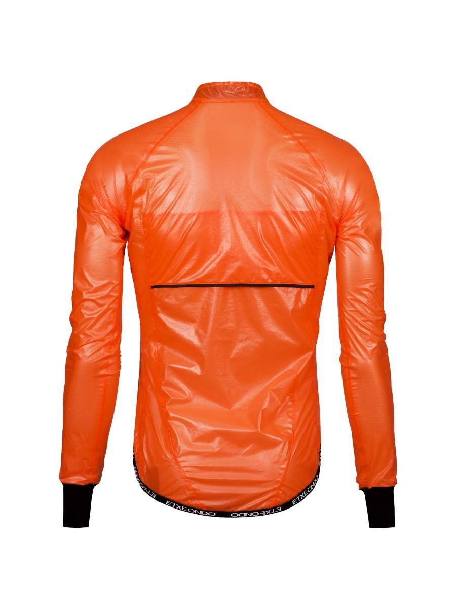Etxeondo Mens Busti Rain Jacket Orange