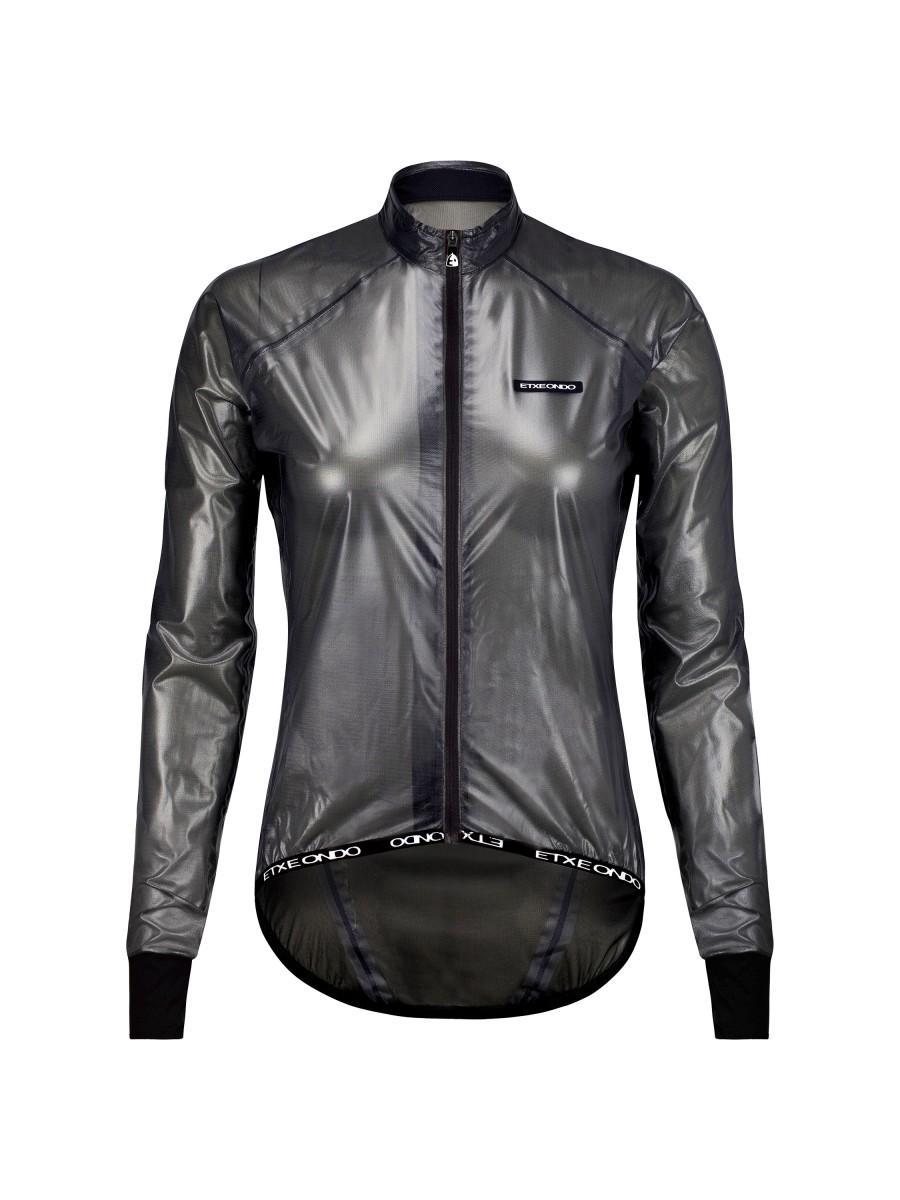 Etxeondo Womens Busti Rain Jacket Black