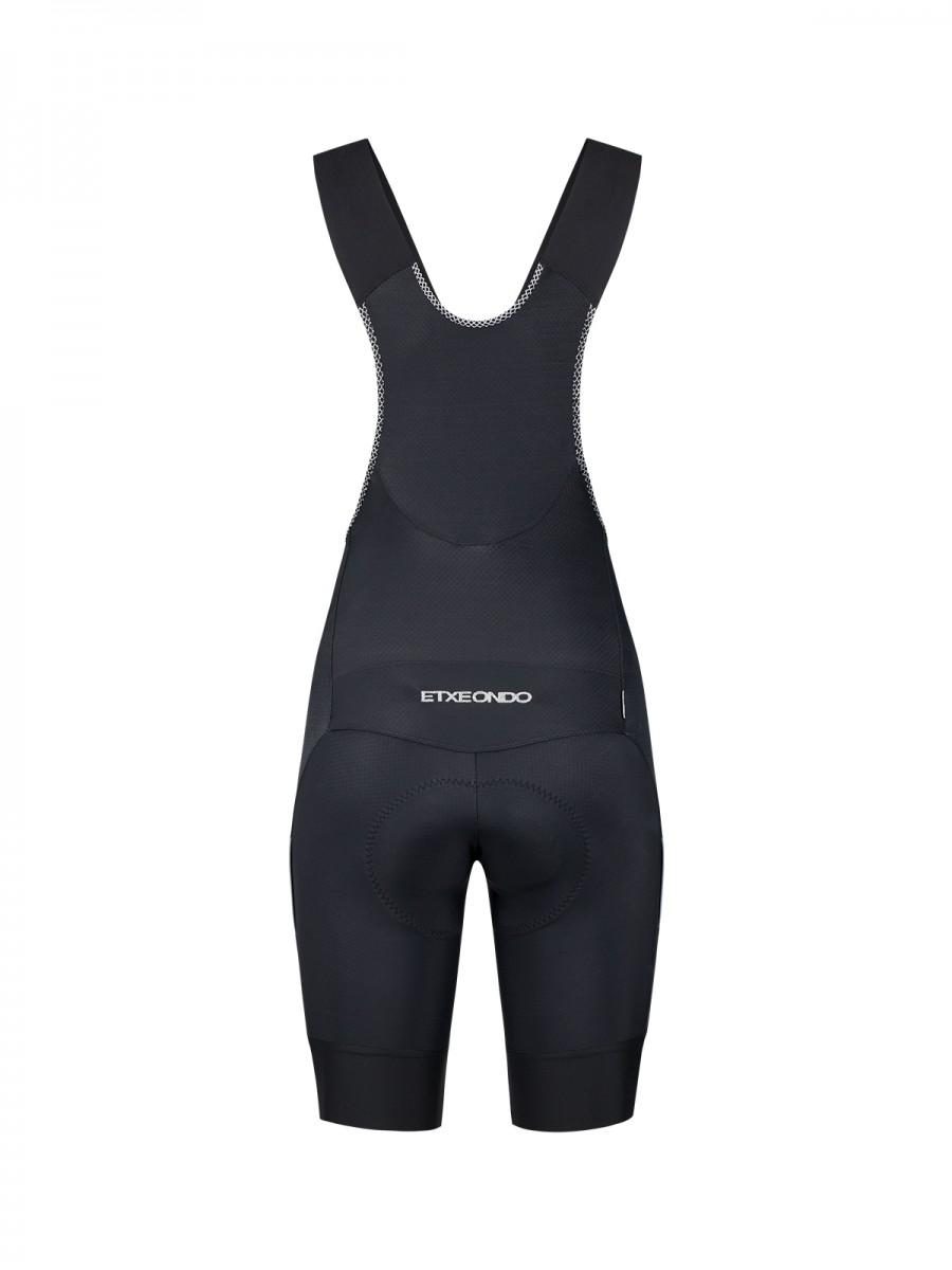 Etxeondo Womens Ixa Superdry Bib Shorts Black