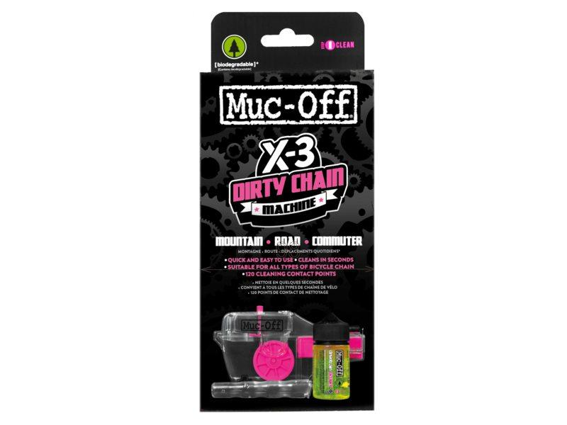 Muc Off Muc-off x3 dirty chain machine kettingreiniger Grijs