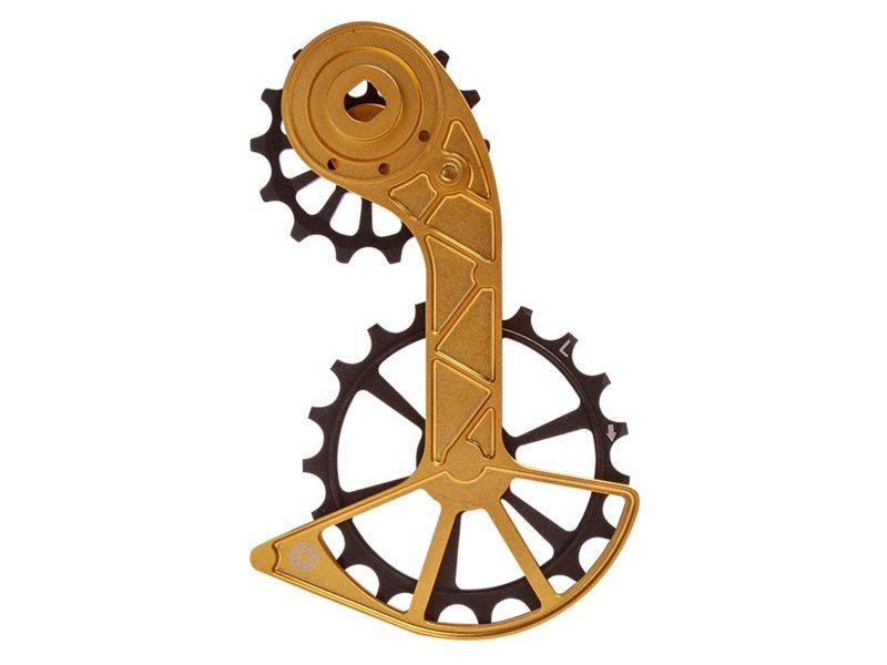 Kogel Kolossos Oversized Derailleur Cage Sram Red/Force AXS Gold Goud